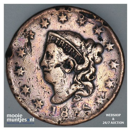 cent - coronet - United States of America/Circulation coinage 1816 (KM 45) (kant