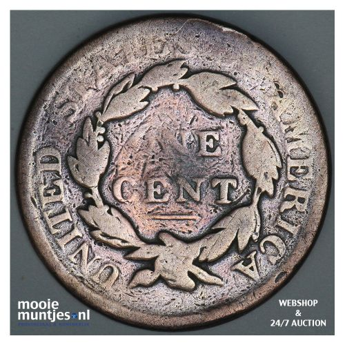 cent - coronet - United States of America/Circulation coinage 1819 (KM 45) (kant