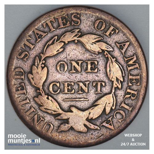 cent - coronet - United States of America/Circulation coinage 1826 (KM 45) (kant