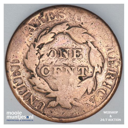 cent - coronet - United States of America/Circulation coinage 1828 (KM 45) (kant