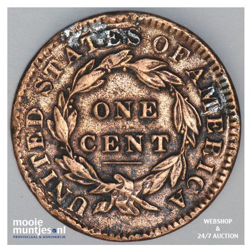 cent - coronet - United States of America/Circulation coinage 1832 (KM 45) (kant
