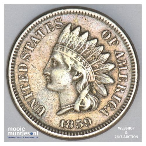 cent - indian head - United States of America/Circulation coinage 1859 (KM 87) (