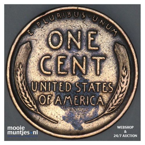 cent - Lincoln - United States of America 1909 (KM 132) (kant B)