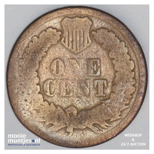 cent - indian head - United States of America/Circulation coinage 1865 (KM 90a)