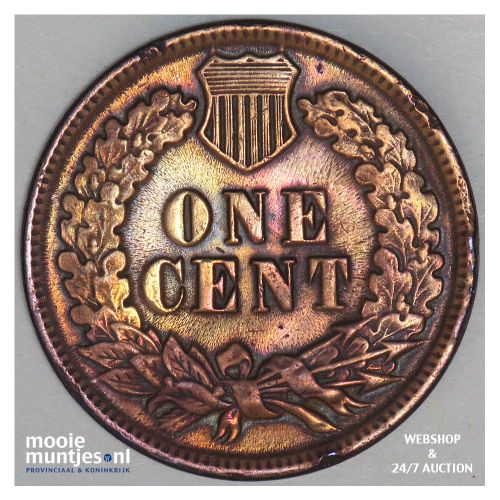 cent - indian head - United States of America/Circulation coinage 1881 (KM 90a)