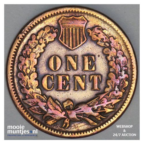 cent - indian head - United States of America/Circulation coinage 1884 (KM 90a)
