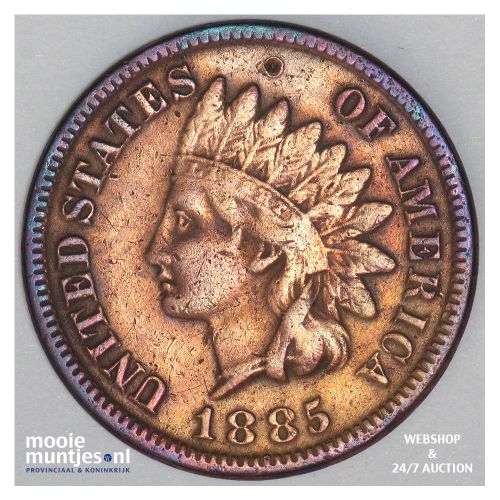 cent - indian head - United States of America/Circulation coinage 1885 (KM 90a)
