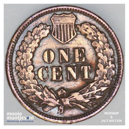 cent - indian head - United States of America 1909 (KM 90a) (kant B)