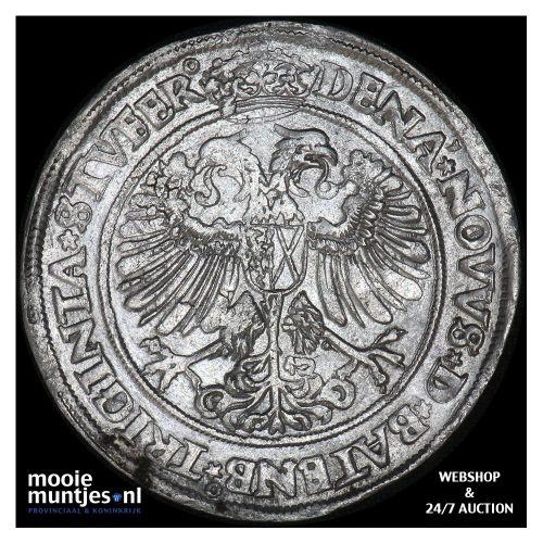 Heerlijkheid Batenburg - Daalder   - 1564 (kant B)