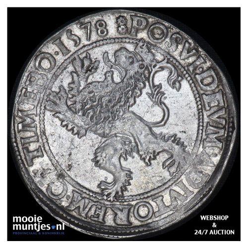 Heerlijkheid Batenburg - Leeuwendaalder - 1578 (kant A)