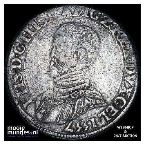 Gelderland - Philipsdaalder - 1557 (kant A)