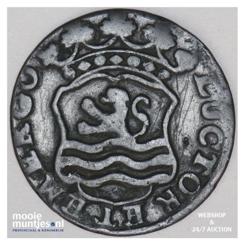 Zeeland - Duit - 1765 (kant B)