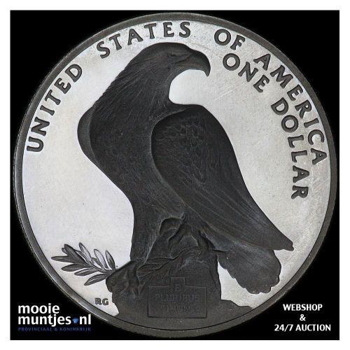 1984 Los Angeles olympics - stadium statues - United States of America/Dollar 19