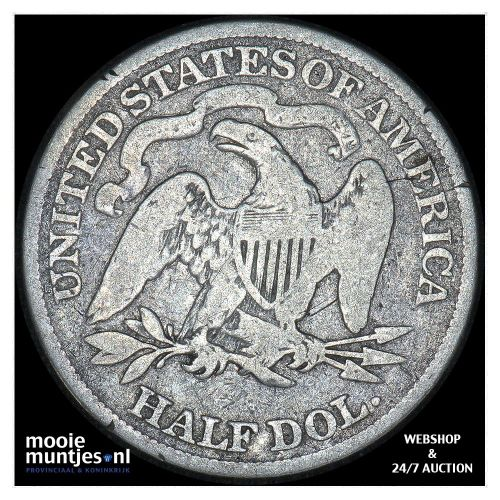 half dollar - seated liberty - United States of America/Circulation coinage 1877