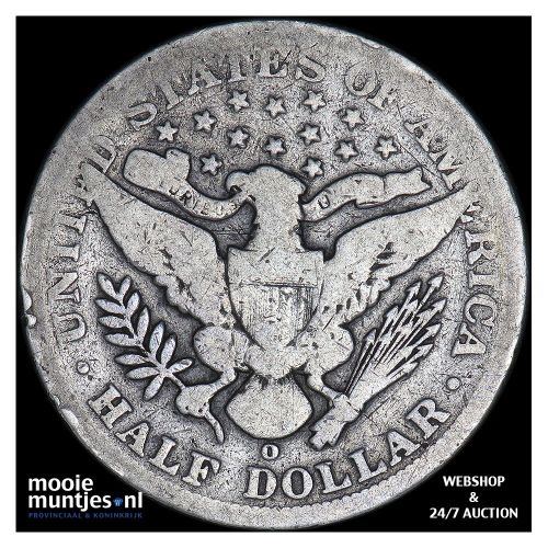 half dollar - barber - United States of America 1903 O (KM 116) (kant B)