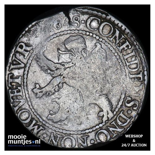 Zeeland - Leeuwendaalder - 1648 (kant A)
