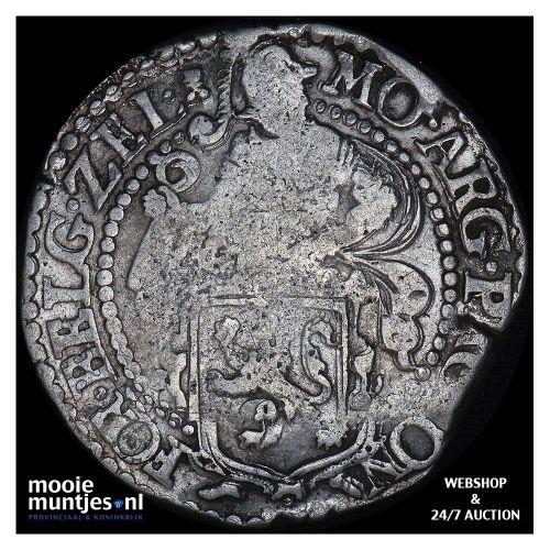 Zeeland - Leeuwendaalder - 1648 (kant B)