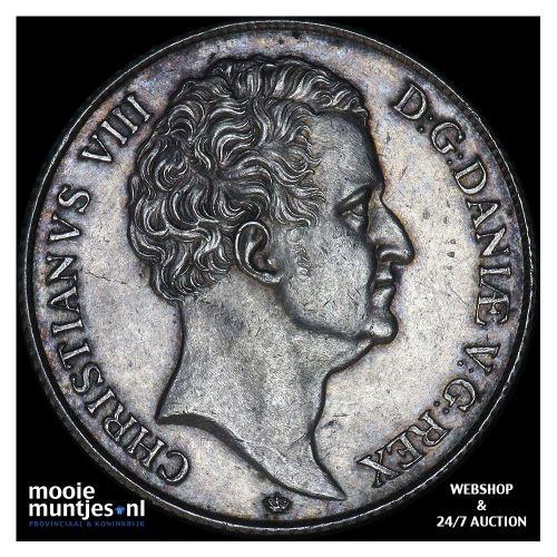 speciedaler - Denmark 1846  (KM 741) (kant B)