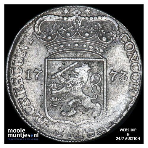 Zeeland - Zilveren dukaat - 1773 (kant A)