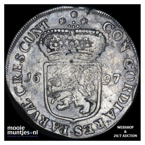 Zeeland - Zilveren dukaat - 1697 over 96 (kant A)