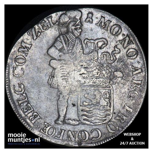 Zeeland - Zilveren dukaat - 1697 over 96 (kant B)