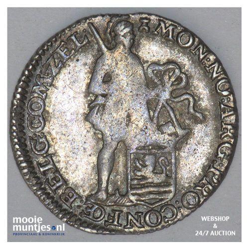 Zeeland - Achtste dukaat of Pietje - 1785 (kant B)