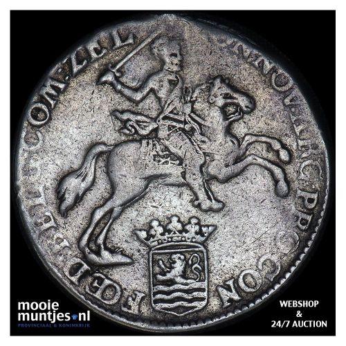 Zeeland - Halve zilveren rijder of halve dukaton - 1785 (kant B)