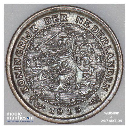 ½ cent - Wilhelmina - 19015 (kant A)