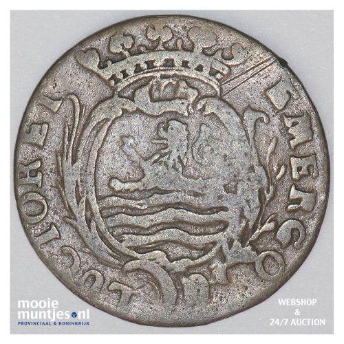 Zeeland - Duit - 1766 (kant B)