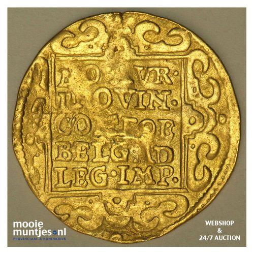 Gelderland - Dubbele gouden dukaat - 1656 (kant B)