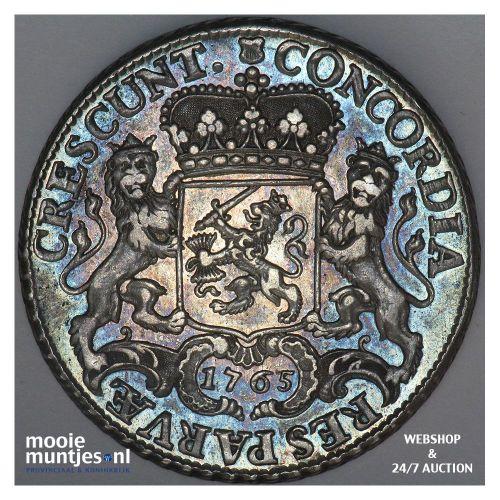 Utrecht - Dukaton - 1765 over 63 bloemrand (kant A)
