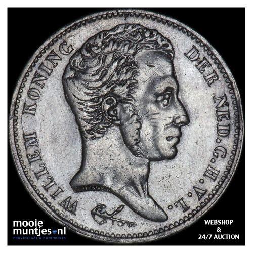 1 gulden - Willem I - 1828 Utrecht (kant B)
