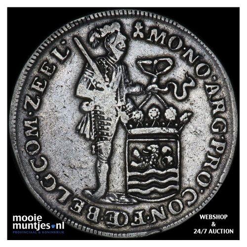Zeeland - Zilveren dukaat - 1748 (kant B)