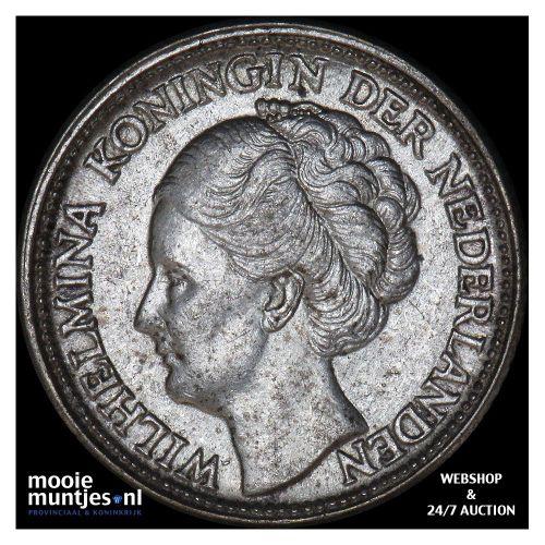 25 cent - Wilhelmina - 1945 EP (kant B)
