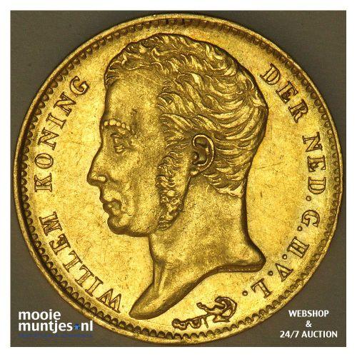 10 gulden - Willem I - 1840 (kant B)