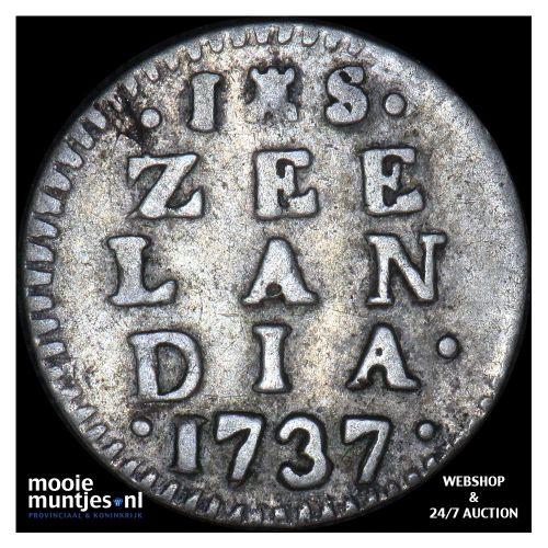 Zeeland - Stuiver - 1737 (kant A)