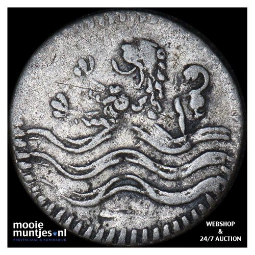 Zeeland - Stuiver - 1737 (kant B)