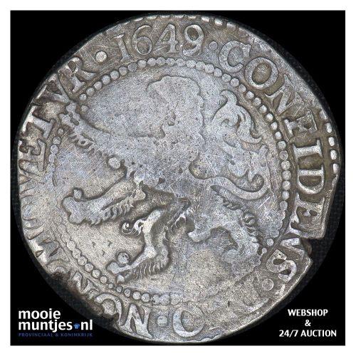 Zeeland - Halve leeuwendaalder - 1649 over 48 (kant A)