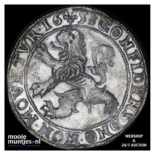 Kampen - Leeuwendaalder - 1653 (kant A)
