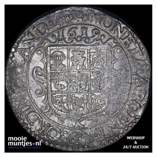 Zeeland - Arendsdaalder van 60 groot - 1619 (kant A)