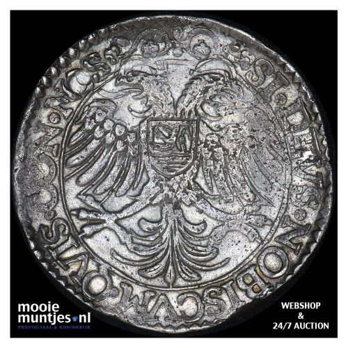 Zeeland - Arendsdaalder van 60 groot - 1619 (kant B)