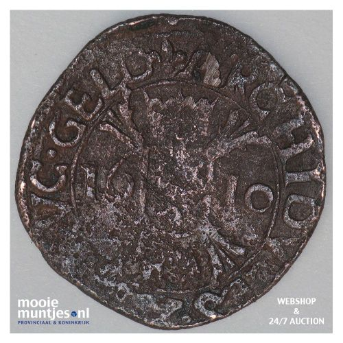 Roermond - Kwart stuiver of oord - 1610 (kant A)