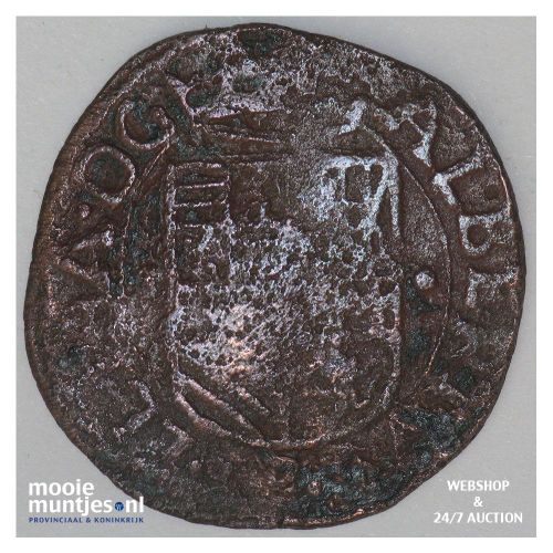 Roermond - Kwart stuiver of oord - 1610 (kant B)