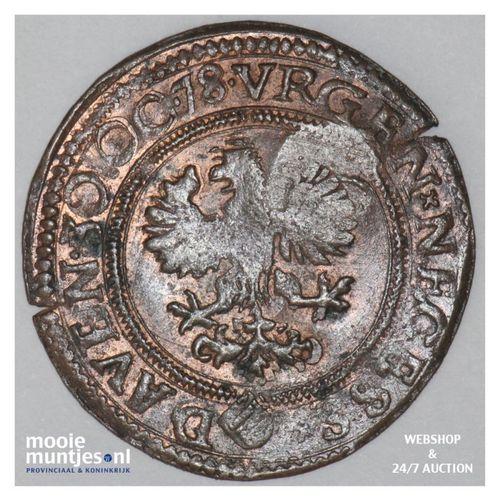 Deventer - Stuiver - 1578 (kant A)