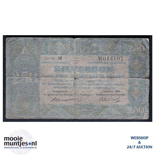 2½ gulden - 1918 (Mev. 12-2 / AV 10) (kant A)