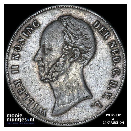 2½ gulden - Willem II - 1846 lelie (kant B)