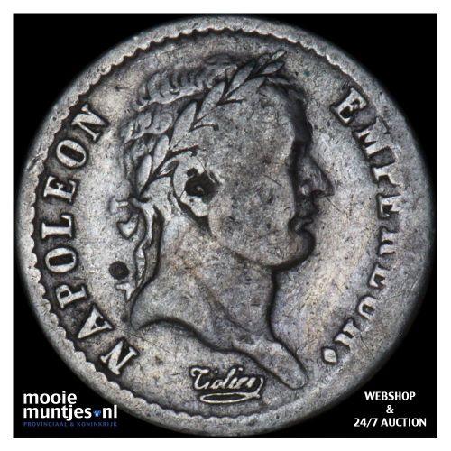 1/2 franc - France 1810 A (Paris) (KM 691.1) (kant B)