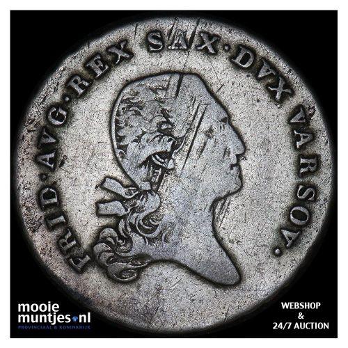 1/6 talara - Poland 1814 (KM C# 85) (kant B)