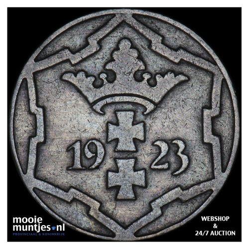10 pfennig - Danzig 1923 (KM 143) (kant A)
