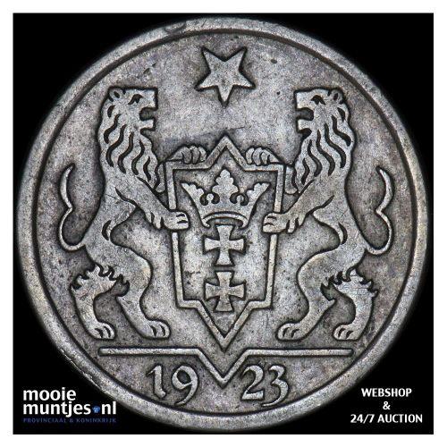 gulden - Danzig 1923 (KM 145) (kant A)